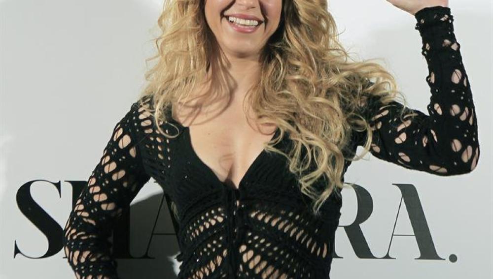 Shakira, en la presentación de su nuevo disco