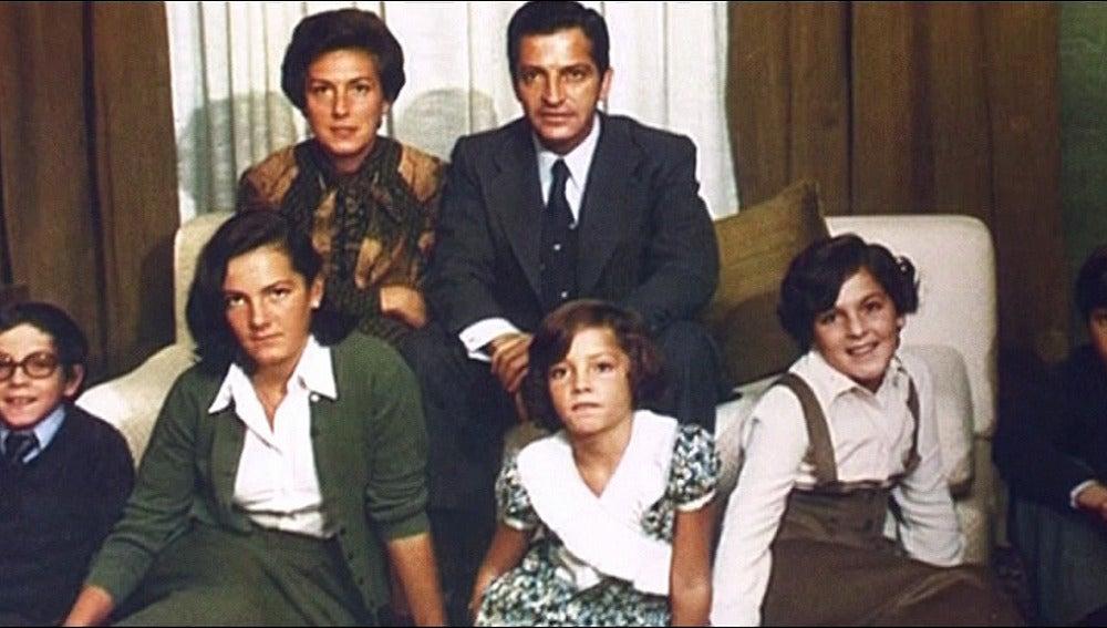 La familia de Adolfo Suárez