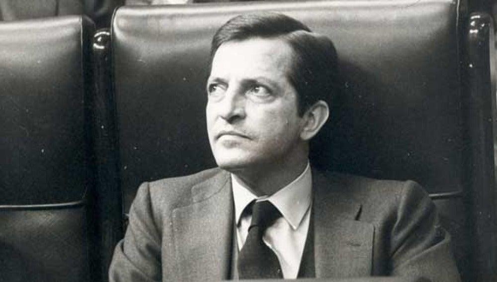 Adolfo Suárez en el Congreso