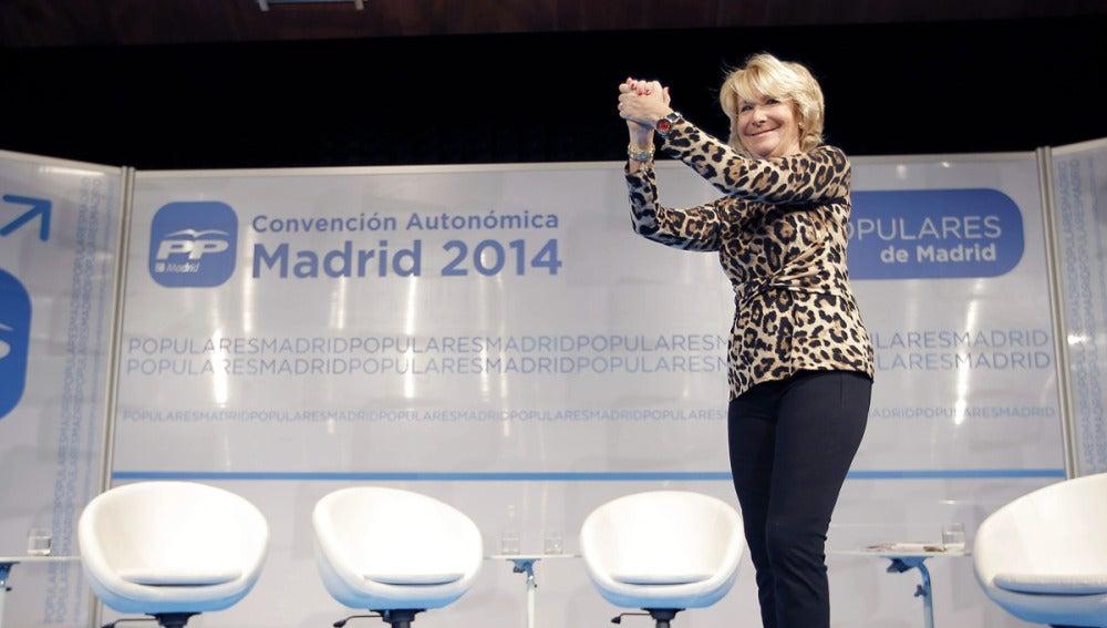 Aguirre, en un acto en Madrid