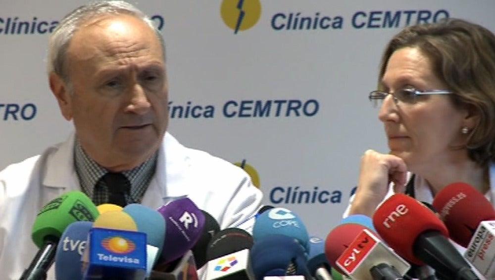 El equipo médico que atendió a Suárez