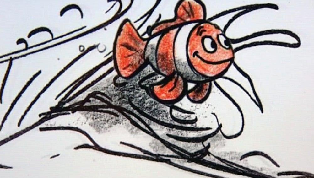 Dibujo de la película 'Buscando a Nemo'