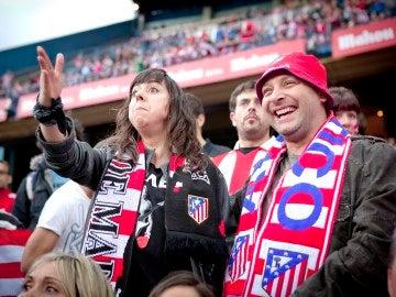 Eli y Chema en el Calderón