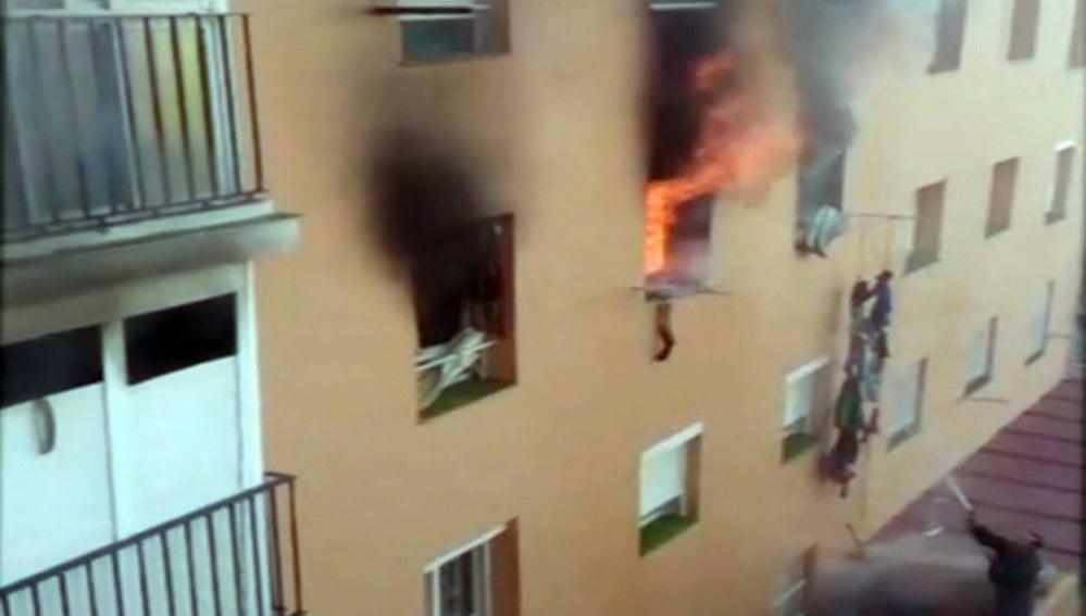 Incendio en un piso en Puerto del Real