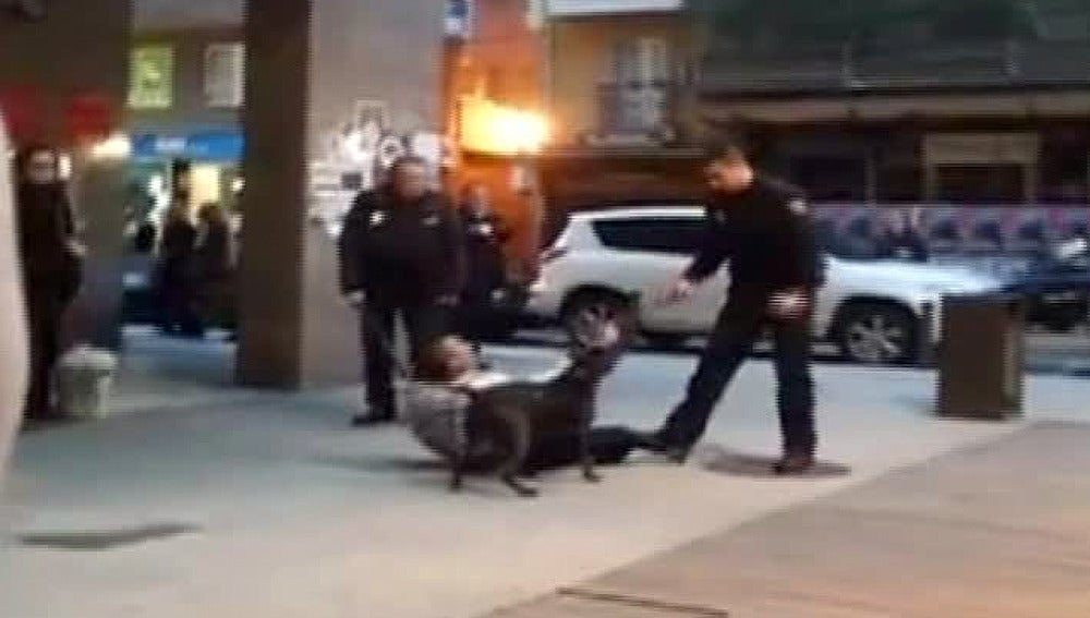 Un perro ataca a un policía en A Coruña