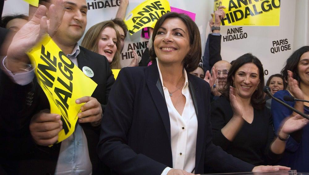Anne Hidalgo, nueva alcaldesa de París
