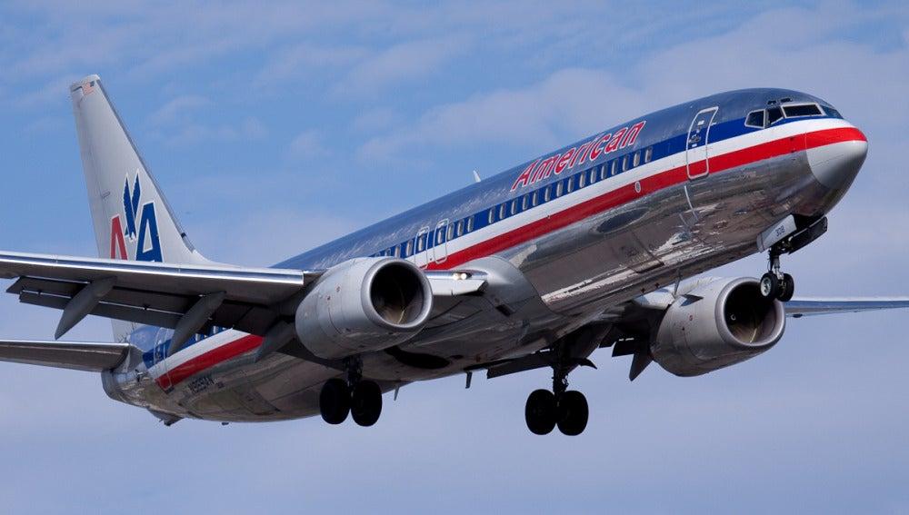 Avión de la aerolínea American Airlines