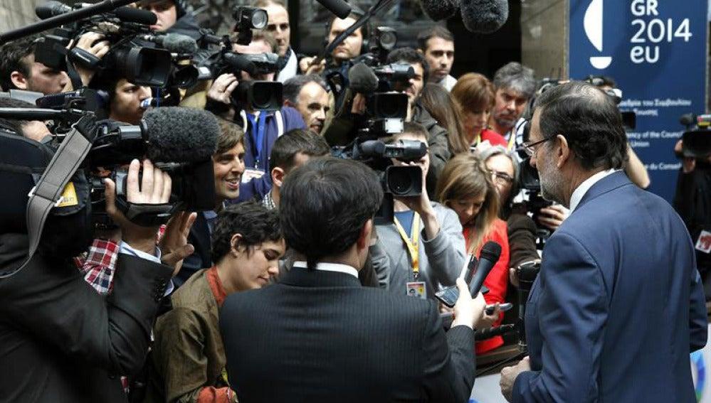Mariano Rajoy en la cumbre entre UE y África.