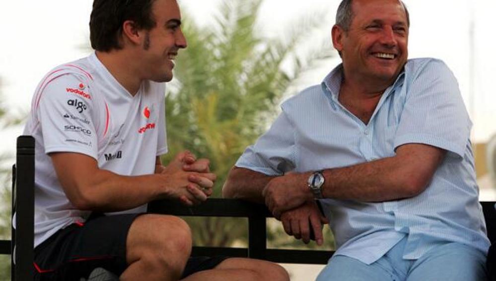 La foto que ha publicado McLaren en Twitter