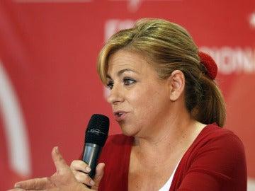 Elena Valenciano, candidata socialista a las elecciones europeas