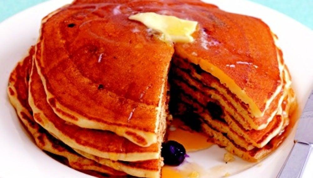 ¿Un Blueberry Pancake con vistas al parque?