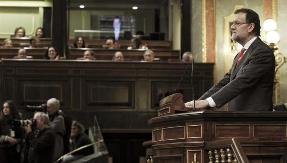 Rajoy, en el Debate sobre la consulta