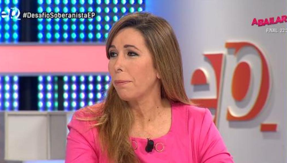 Alicia Sánchez Camacho, en Espejo Público