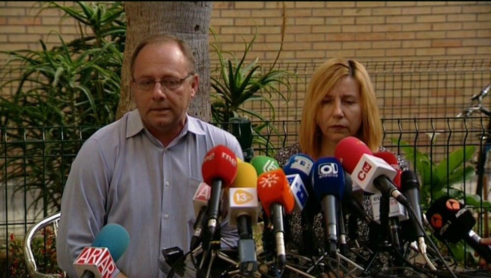 Los padres de Marta del Castillo