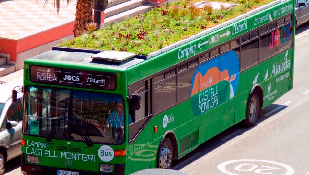 Jardín autobus