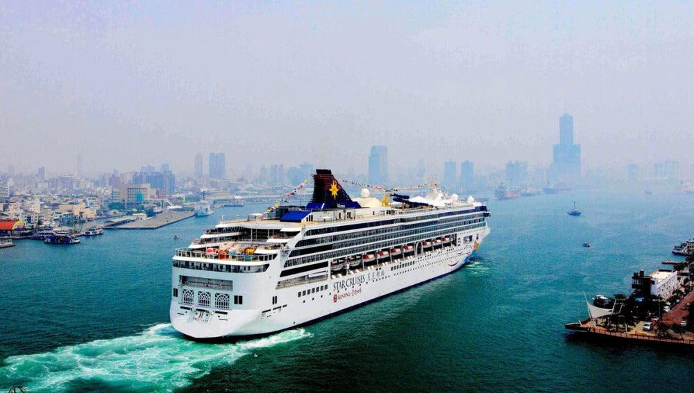 Embarcación de crucero
