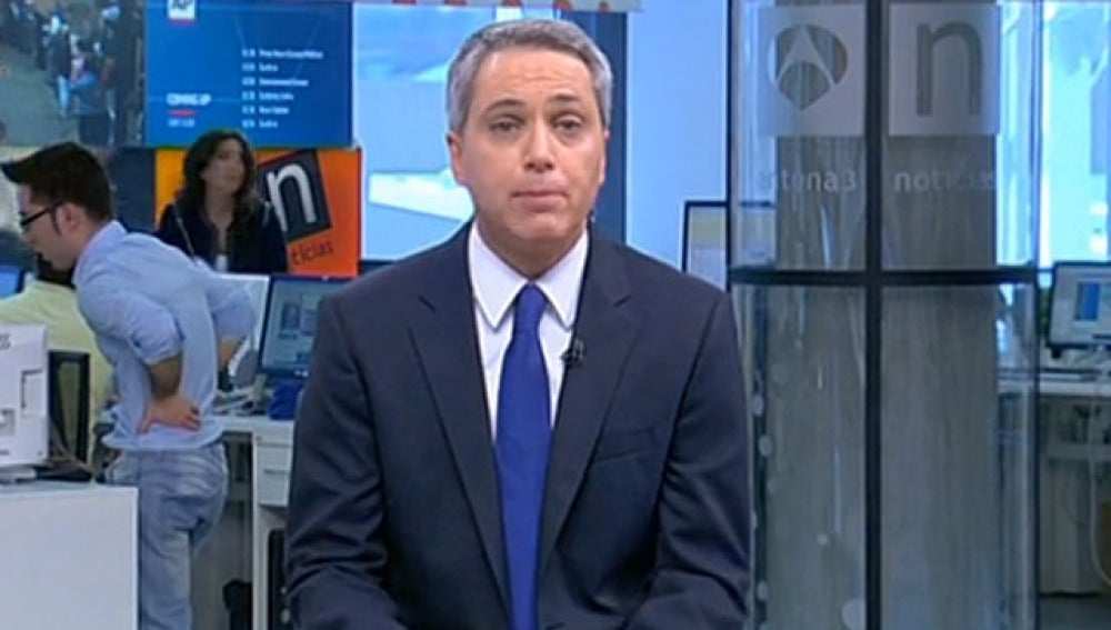 Vicente Vallés, director de Noticias 1