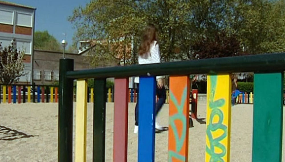 Un parque de Madrid