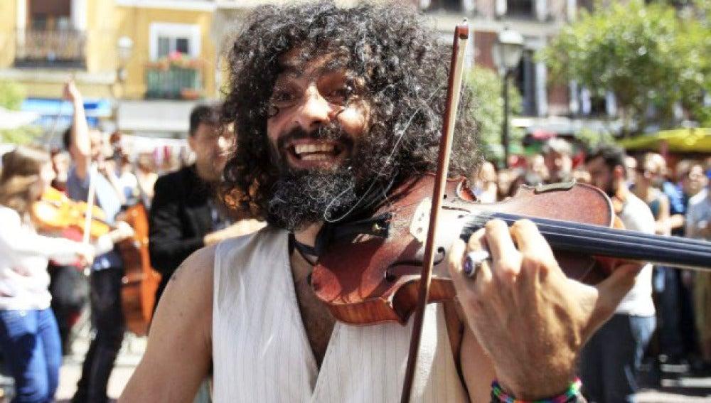 Violinista libanés