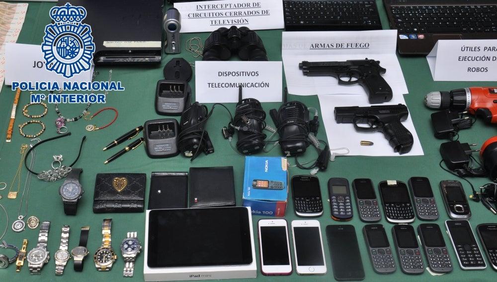 Desmantelado un grupo organizado autor de más de 20 robos con fuerza en viviendas de la Costa del Sol