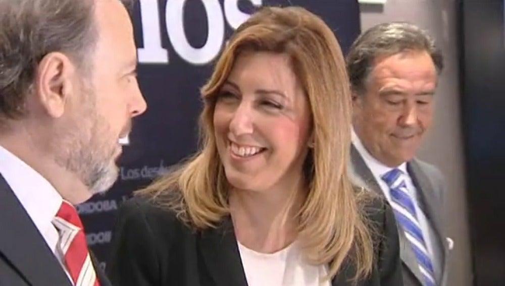 Susana Díaz acusa a Interior de señalar a la Junta por los cursos de formación