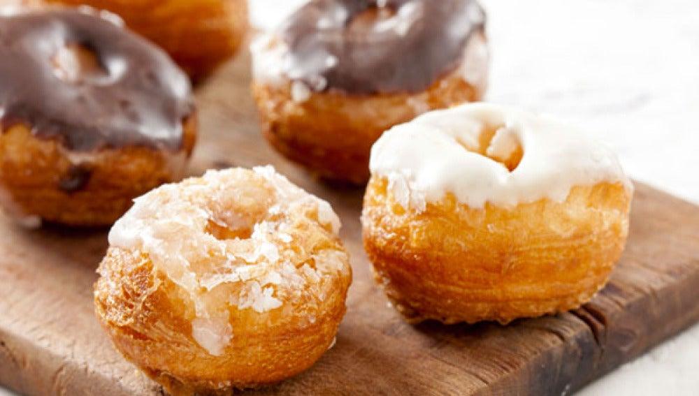 El cronut, protagonista de la penúltima fiebre gastronómica de Estados Unidos.