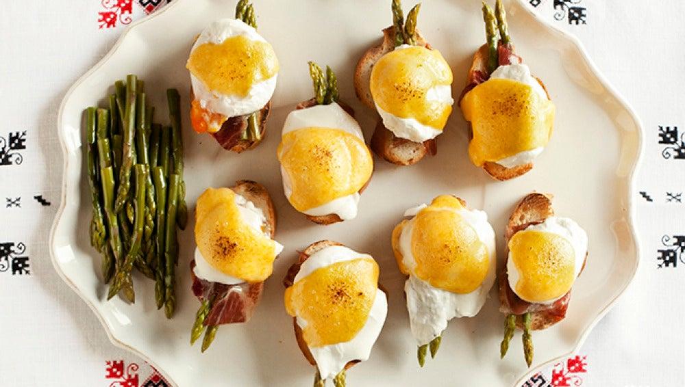 Ñam, ñam. ¡Qué buena pinta tienen los huevos trufados!