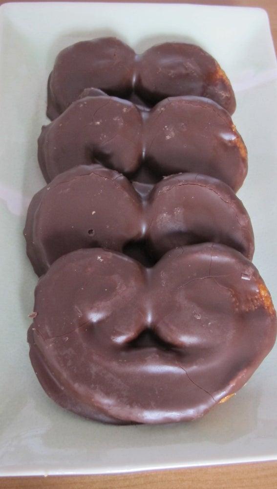 Palmeritas de chocolate. Deliciosas y tentadoras.