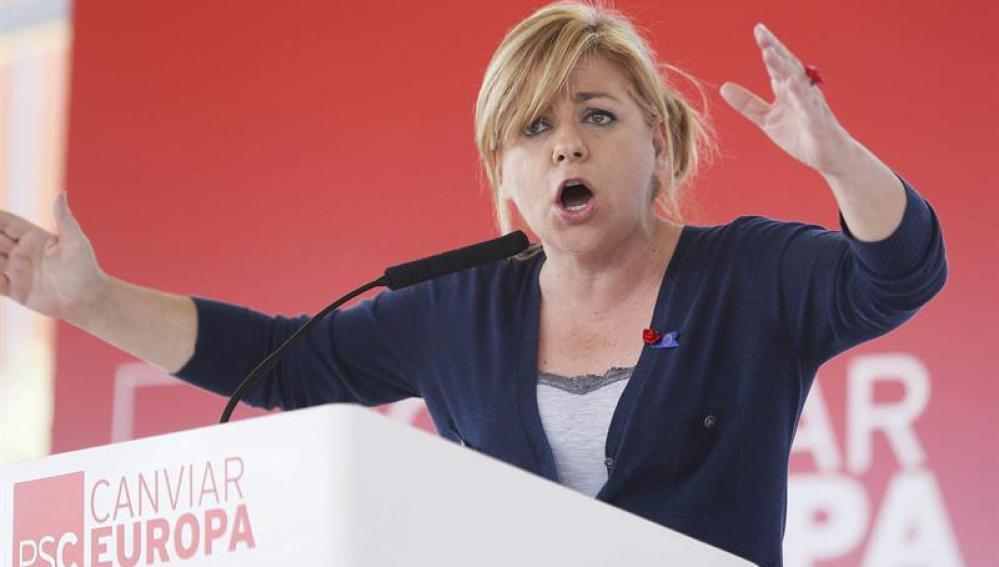 Elena Valenciano, candidata del PSOE