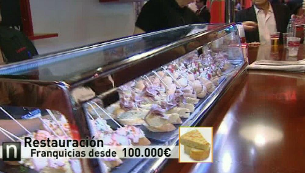 Franquicias en restauración por 100.000 euros