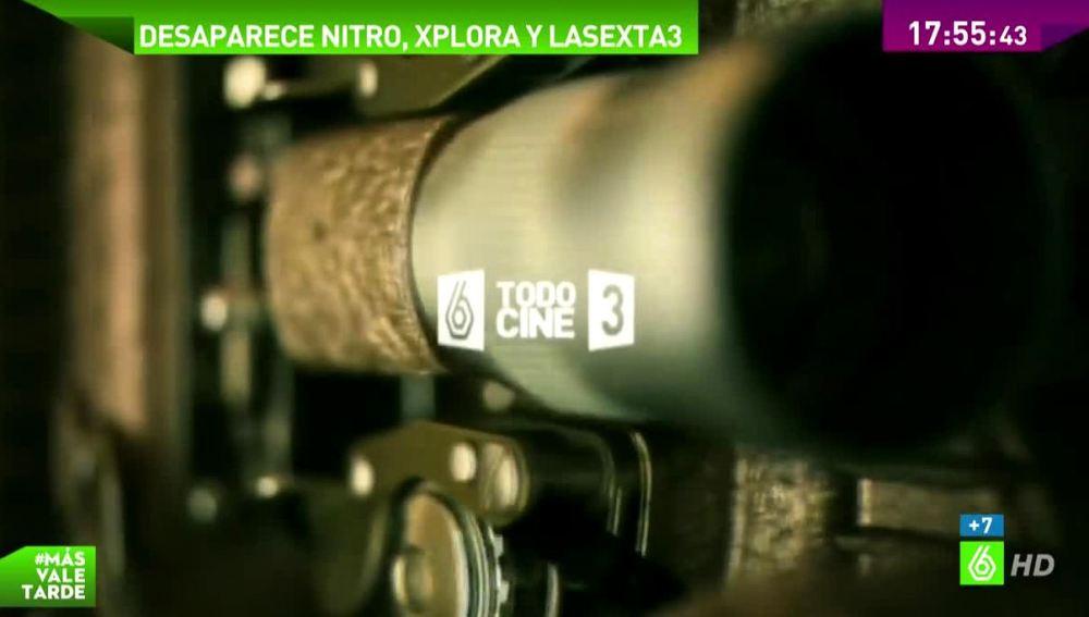 Adiós a Xplora, Nitro y laSexta3