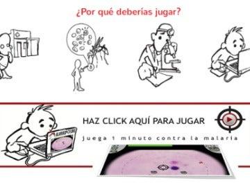 Un joven asturiano crea un videojuego que ayuda a diagnosticar la malaria