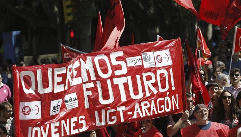 Marchas por el Día del Trabajo