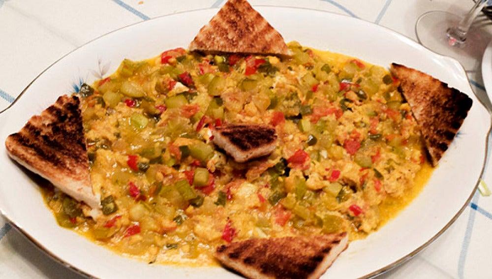El pisto bilbaíno es uno de los platos más típicos del día a día de la cocina vasca