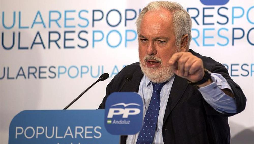 Miguel Arias Cañete, candidato del PP
