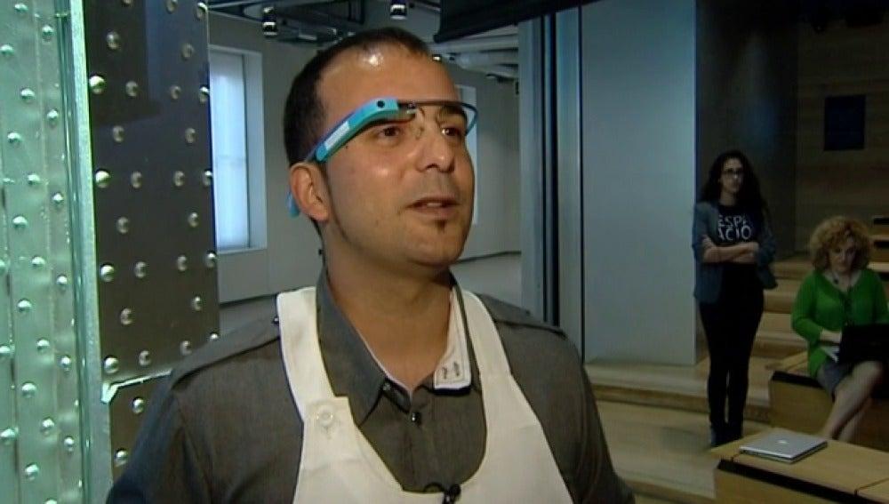 Cocinar con la ayuda de las google glass