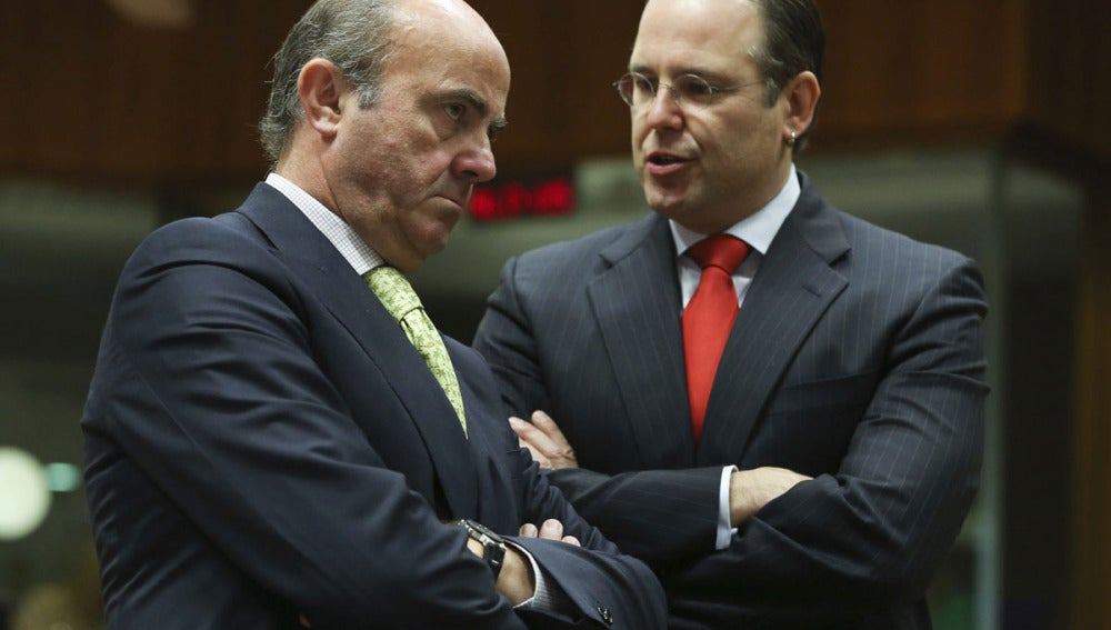 El ministro de Economía, Luis de Guindos