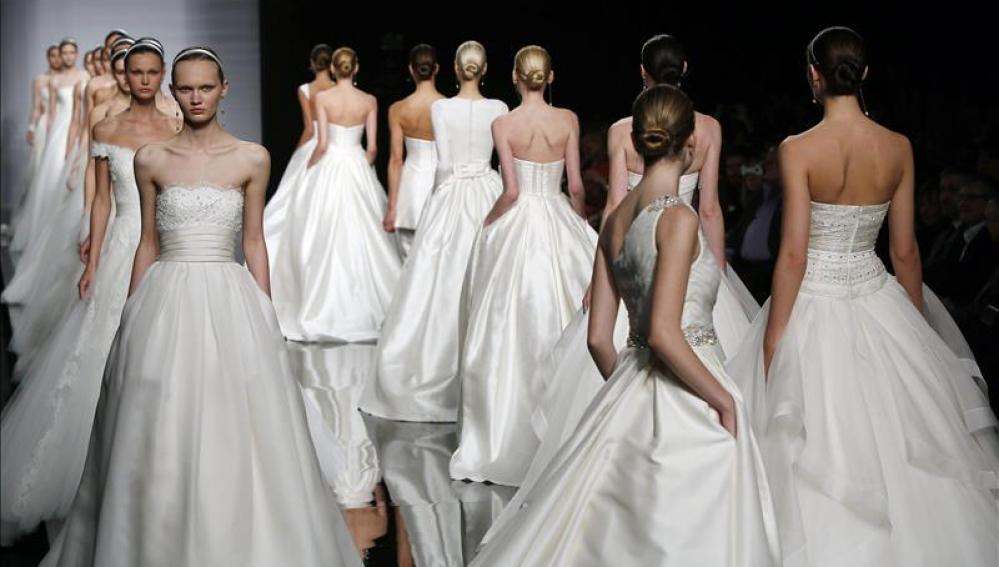 Barcelona busca ser un referente del estilismo nupcial