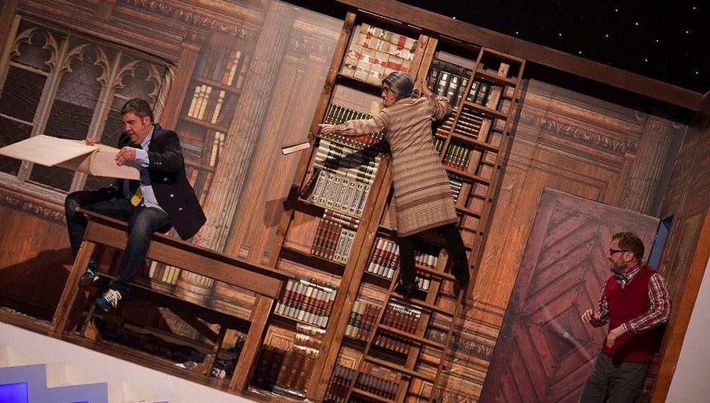 Teatro de pendiente: ¡Mañana Libro!