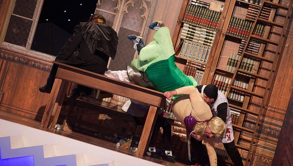 Teatro de pendiente: Cuando Harry encontró a Edu