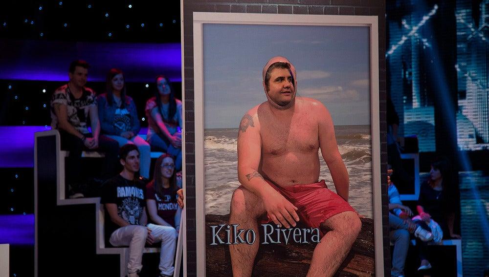 Flo es Kiko Rivera en Se te ve el cartón