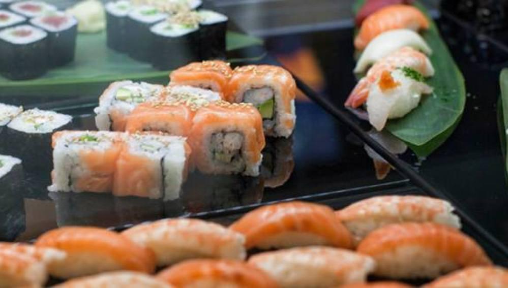 La suntuosa oferta de sushi de Kirei by Kabuki.