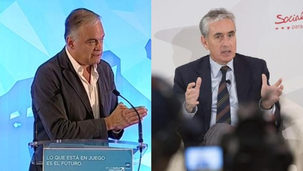 Esteban González Pons (PP) y Ramón Jáuregui (PSOE)