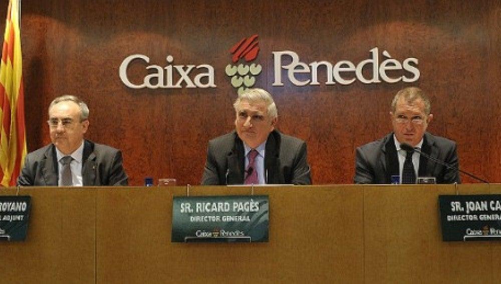 El exdirecto de Caixa Penedès, Ricard Pagès
