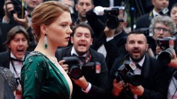 Así fue la alfombra roja de la nueva película de Lea Seydoux