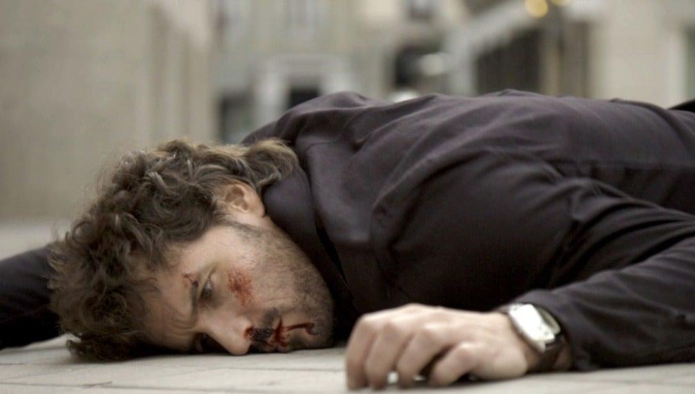 Juan herido tras el atropello
