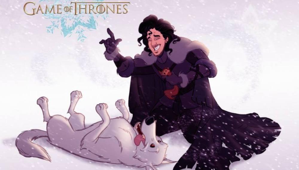Si Disney hubiera dibujado 'Juego de Tronos'