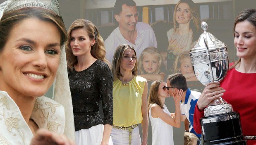 Los diez años de Letizia como princesa