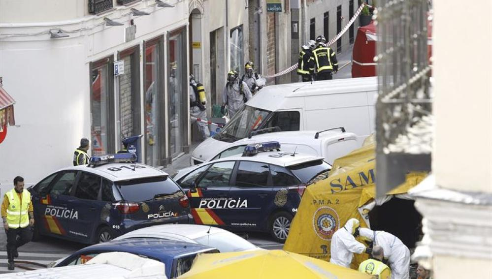 Sede de Amnistía Internacional en Madrid