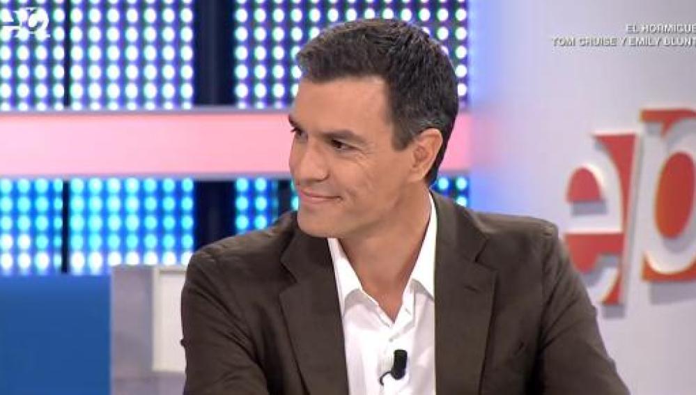 Pedro Sánchez, diputado del PSOE por Madrid